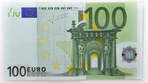 100-EURO-Geldschein-Banknote-Vorderseite